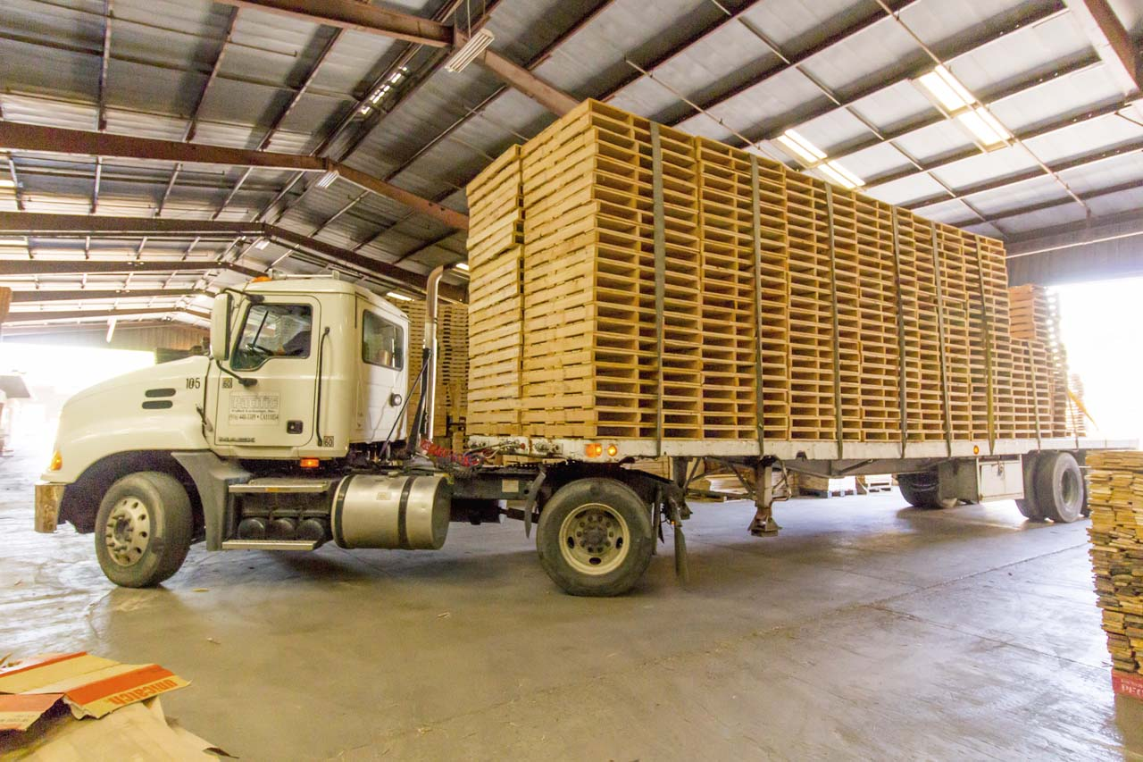 what is pallet exchange in trucking